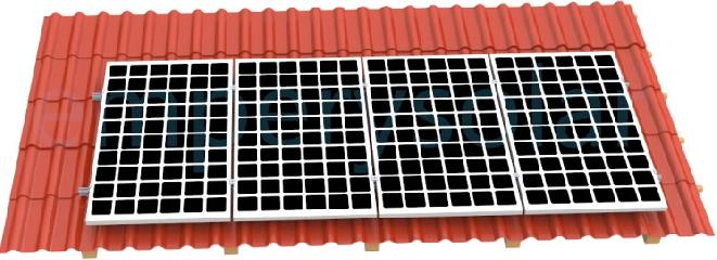 Tiled Roof Solar Racking System